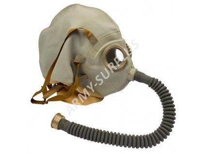 Plynová maska ŠR-2 pro zraněné na hlavě