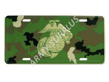 Poznávací značka na auto (License Plates) USA Marines USMC