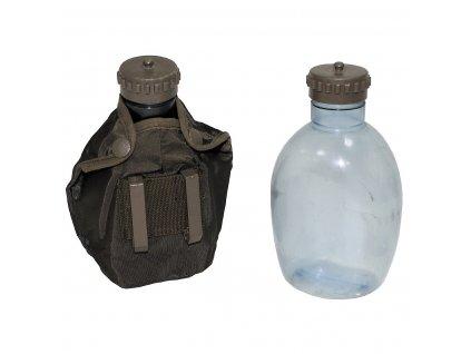Polní láhev (čutora) s obalem Rakousko Glock oliv originál