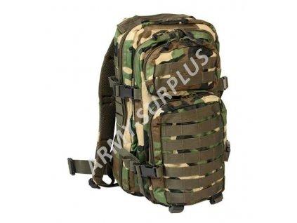 Batoh ASSAULT Pack US 20L molle woodland malý starý typ Miltec b8e7f259fa