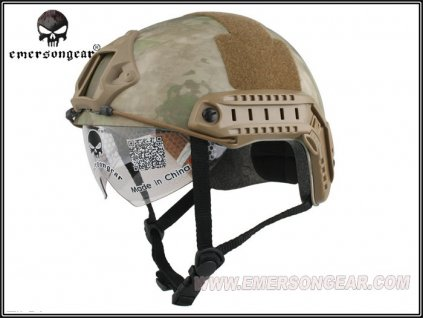 Helma (přilba) FAST Emerson Protective Goggle multicamo EM8820F