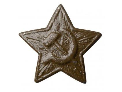 Odznak hvězda Rusko (SSSR,CCCP) zelená