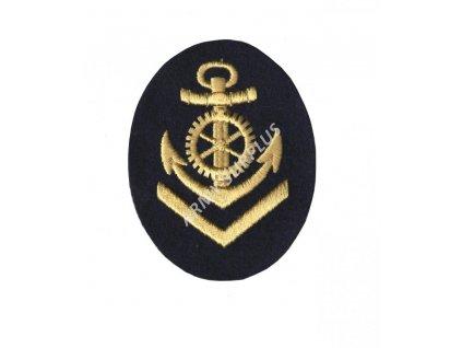Nášivka námořní kotva NVA 9