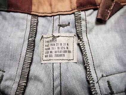 Kalhoty polní US originál M65 woodland nové
