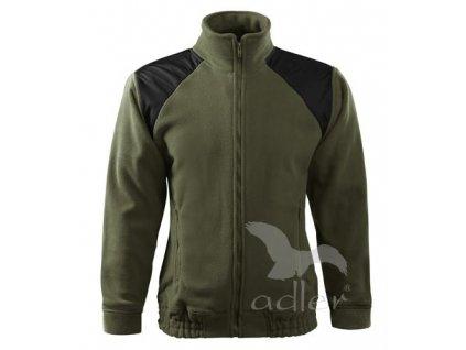 Mikina fleece Adler Hi-Q 360 oliv Military