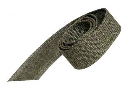 Opasek (řemen) AČR vz. 95 zelený oliv suchý zip originál použitý