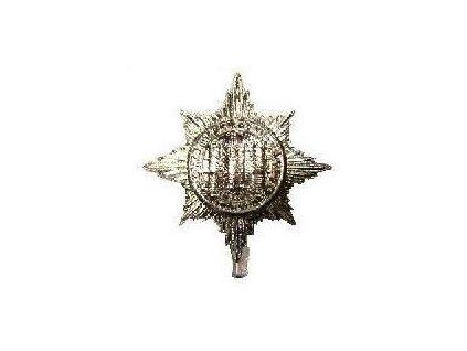 Odznak britský na baret Velká Británie Royal Dragoon Guards