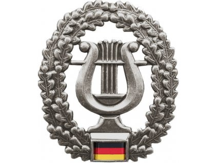 Odznak na baret BW (Bundeswehr) Musikkorps