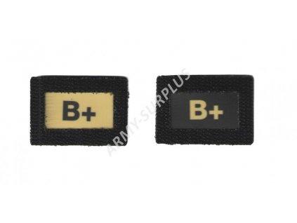 B+Glind tape - označení krevní skupiny  ALP FENIX AC-139 velcro suchý zip