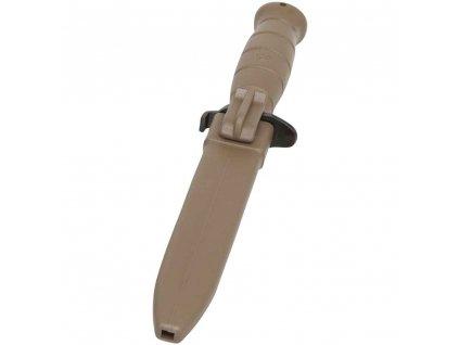 Nůž Glock bodák (bajonet) M81 s pilkou Dark Earth Coyote originál