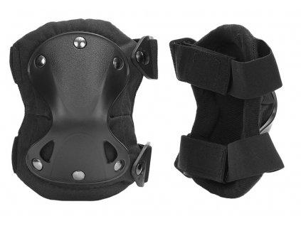 Chrániče kolen 101 INC černé tvarované