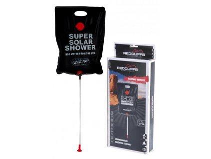Solární sprcha (vak na ohřev vody) Redcliffs Camping Shower 15L