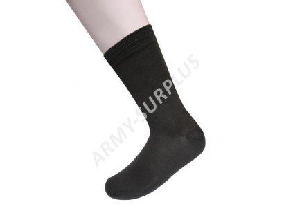 Ponožky  tenké elastické oliv LOOK