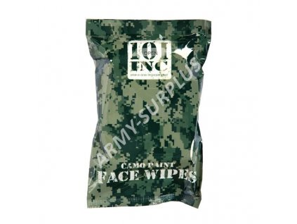 Odličovací hygienické ubrousky (Camo paint face wipes)