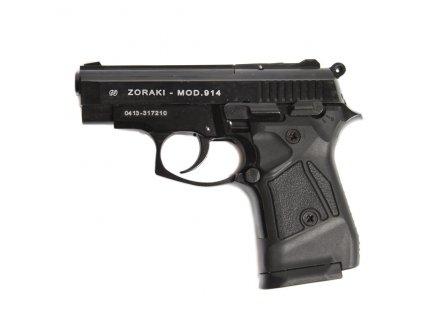 Plynová (expanzní) pistole ATAK ZORAKI 914 9mm PAK černá