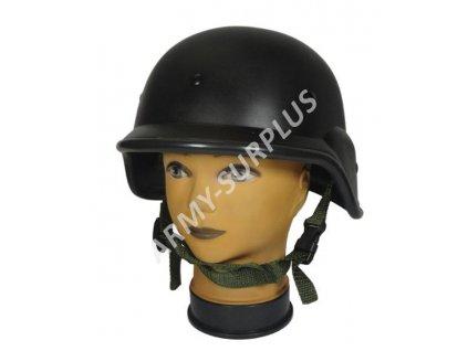 Helma (přilba) US PASGT černá cvičná