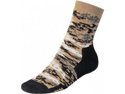 Ponožky Thermo (termo) digital desert Batac TH-08