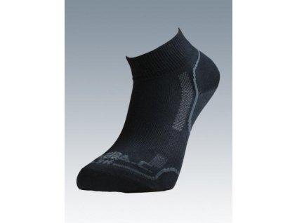 Ponožky Classic short black Batac CLSH-01