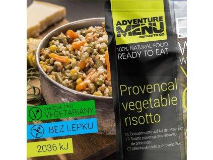 Adventure Menu Zeleninové rizoto po Provensálsku (hotová strava) 400g