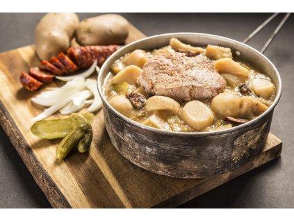 Adventure Menu Vepřové žebírko s bramborem (hotová strava) 400g