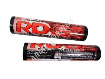 Dýmovnice RDG2 červená airsoft