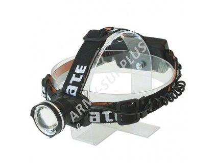 Baterka čelovka nabíjecí PUMA 6W CREE LED ZOOM Yate 570 lumen