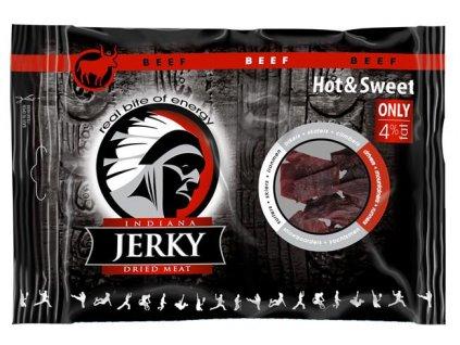 Sušené hovězí maso 100g Jerky Beef Hot and Sweet