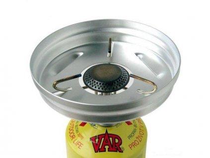 Závětří plamene pro vařič VAR
