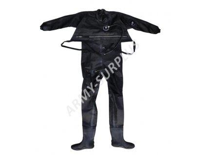 Suchý potápěčský oblek APEKS černý použitý