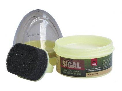 SIGAL samoleštící bezbarvý regenerační krém 50ml