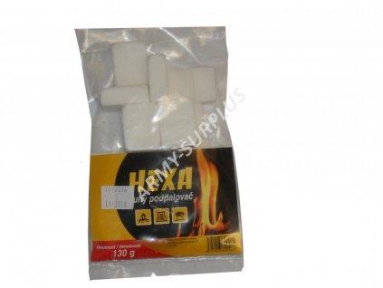 Podpalovač pevný líh hexa balení sáček