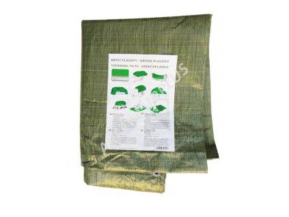 Krycí plachta multifunkční 3 x 5m oliv