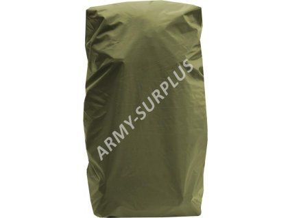 Potah (povlak,obal,převlek) na batoh a tlumok (20 - 25l) oliv AČR