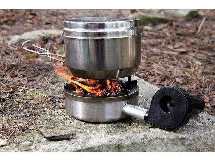 Vařič Vařič na tuhá paliva WOOD (dřívkáč) nerez