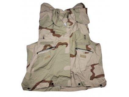 Potah US na neprůstřelnou vestu originál 3 color desert nový