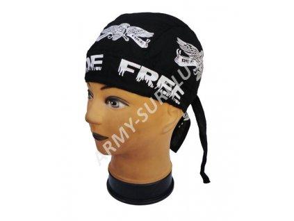 Šátek RIDE FREE černý