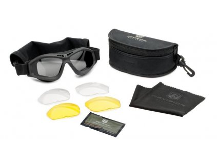 Brýle balistické REVISION bullet ant DELUXE KIT tactical  černé