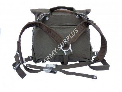 Malá polní batoh BW oliv moleskin originál Kampftasche Bundeswehr
