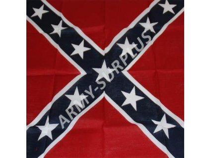 Šátek potisk konfederace čtvercový