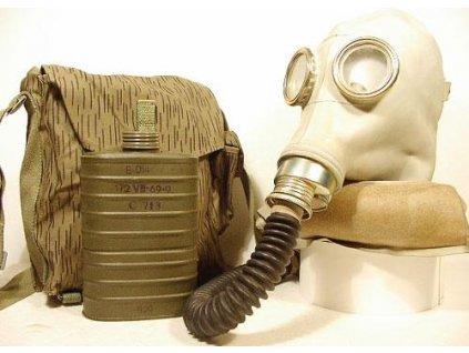 Plynová maska Faser SR-1 pro raněné Polsko kompletní