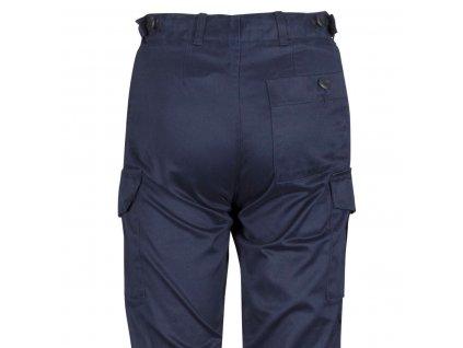 Kalhoty Velká Británie FR nehořlavé tmavě modré navy