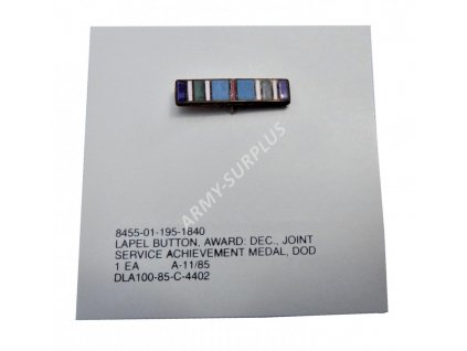 Odznak US Ribbons Joint Service Achievement Medal