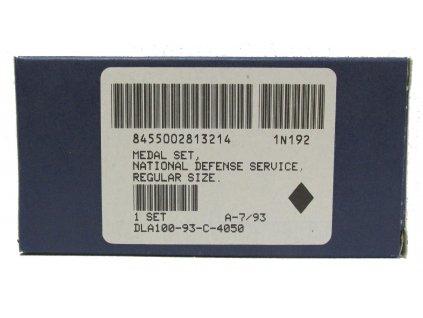 Medaile US National Defense Service
