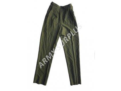 Kalhoty US dámské vlněné originál oliv