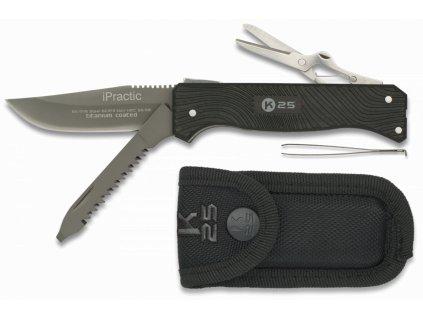 Nůž multifunkční iPRACTIC RUI K25 Titanium 11116