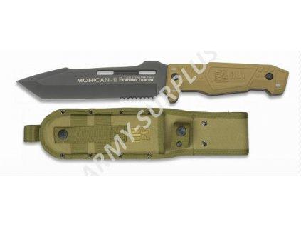 Nůž RUI 31995 MOHICAN-II survival Tanto coyote