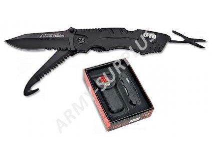 Nůž multifunkční RUI 11071 Titanium Tactical záchranář