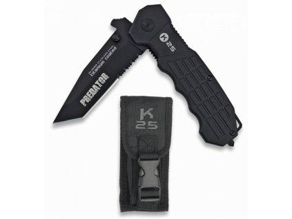 Nůž K25/RUI 19099 Predator černý