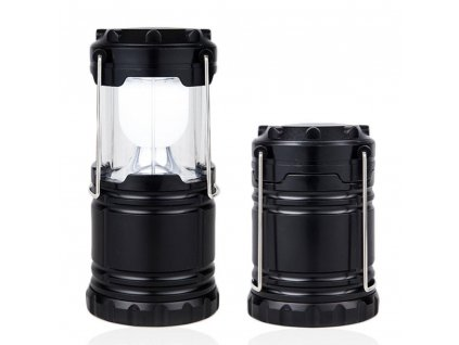 Lampa (baterka, svítilna) LED kempingová vysouvací