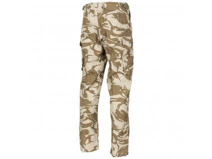 Kalhoty britské desert  DPM Combat Tropical Velká Británie
